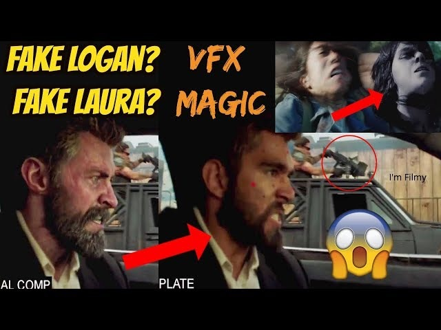 Logan Movie VFX and Behind the Scenes Ft. Hugh Jackman Dafne Keen - 2017