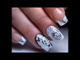 Литье и Вензеля Самый Крутой Зимний Дизайн Ногтей | The Coolest Winter Nail Design