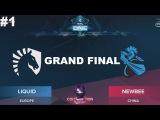 Liquid vs NewBee RU Grand Final #1 (bo5) ESL One Genting 2018 Minor 28.01.2018