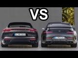 2018 Mercedes-AMG GT 4-Door vs 2018 Porsche Panamera