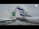 В аэропорту Тель-Авива столкнулись два самолета ( 720 X 1280 ).mp4