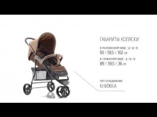 ULTIMA by HB - Happy Baby® - обзор всех функций прогулочной коляски