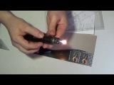 Посылка из Китая №389 Зажигалка - паяльник, светильник для шкафа с датчиком движения