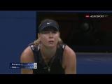 US Open 2017/ 1-й круг / Мария Шарапова (Россия) — Симона Халеп (Румыния) / Maria Sharapova (17879) - Simona Halep (2)