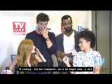 Catching Up with the Cast of Shadowhunters at NYCC [RUS SUB]
