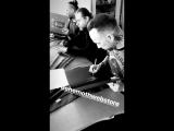 Signing session at Behemoth Webstore | Messe Noire LP