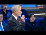 19 апреля 2018 г. Алексей Журавлев спорит с представителем