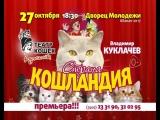 Спектакль «Страна Кошландия» Московского театр Куклачевых!!!!27 октября в Абаканском Дворце Молодежи состоится выступление Моско