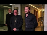 Юрий Башмет и Константин Хабенский дали эксклюзивное интервью пресс-службе Кремлёвского дворца.