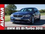 2018 ALPINA BMW B5 Bi-Turbo AUTO WORLD. RU