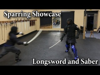 Longsword and Saber - Sparring Showcase