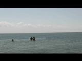 135 Купание  в Азовском море во время экскурсии на Казантип