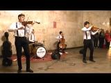В.Цой Пачка Сигарет The Freemans Orchestra. Музыка в Метро