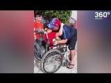 Марадона и его маленький поклонник