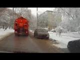 как правильно чистить снег на дороге