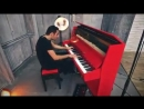 """Peter Bence take on Charlie Puth's Attention"""" with a piano a loop station and lots of fun"""