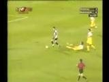 Первый гол Криштиану Роналду в карьере