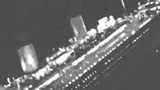 Real Titanic sinking footage