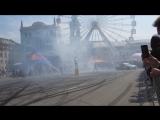 Фестиваль Kyiv Drive Day на Контрактовой площади. Дрифт. Red Bull Александр Грин 2