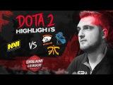 NAVI Dota2 Highlights vs VP, Fnatic, Newbee @ DreamLeague S8 Finals