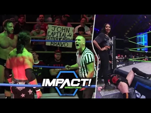 GFW Impact Wrestling 18th January 2018 Highlights HD - TNA Impact 1/18/2018 Highlights HD   W Fight