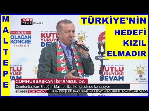 Cumhurbaşkanı Erdoğanın İstanbul - Maltepe İlçe Kongresi Konuşması 15.4.2018