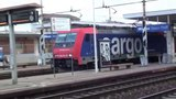 2013-10-12 Transiti misti treni a Greco Pirelli E484, E402, ETR 470 SBB