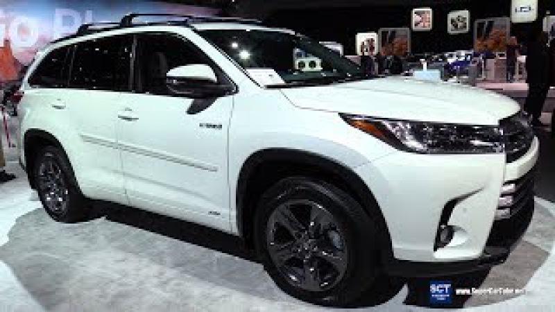 2018 Toyota Highlander Hybrid - Exterior and Interior Walkaround - 2017 LA Auto Show