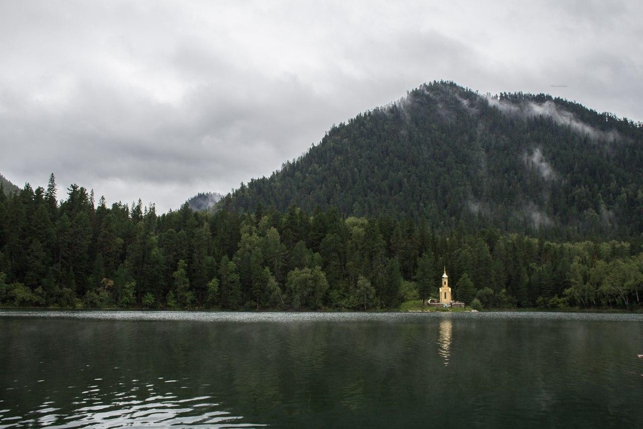 Теплые озера на Снежной