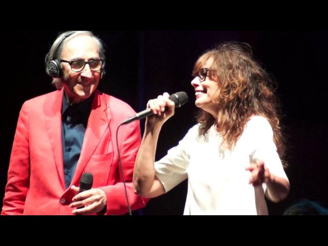Franco Battiato е Alice - I treni di Tozeur (Firenze, 20 Luglio 2016)