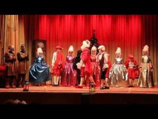 Рождественский спектакль Черная курица  Воскресной школы храма в честь Вознесе ...