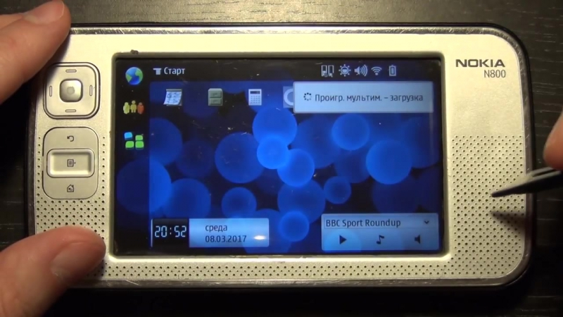 Nokia n800. Ещё немного о таблетках