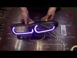 Led Angel Eyes Mitsubishi Galant by TAU tech Светодиодные Ангельские Глазки Митсубиси Галант