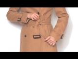 Как красиво завязать пояс на пальто
