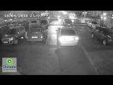Авария на перекрестке ул. Ореховой и ул. Чичерина __ 19 апреля 2018 в 21_07
