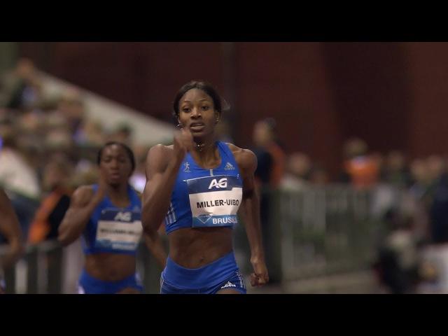 Shaunae Miller Uibo 49.46 WL Women s 400m Brussels Diamond League 2017 1080p