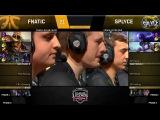 FNC vs SPY (LCS EU 2018 Неделя 1)
