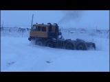 Tatra 815  V 12 bi-turbo  8x8 по снегу