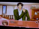 Saeki-sensei talks to Kanata after her nightmare Love Drops game