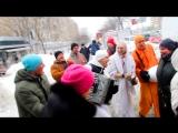 Sunday Rasasthali-Harinam - Падаятра-лила (Харьков, 04 марта 2018 г.)