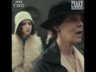 Fancy an exclusive look at the next episode of #PeakyBlinders? Aunt Polly has made a New Year's resolution... and now she's on a