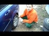 Замена задних колодок на Chevrolet lacetti