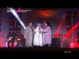 Serebro - Между нами любовь Перепутала В космосе (Весна на МУЗ-ТВ!) 24.03.2018