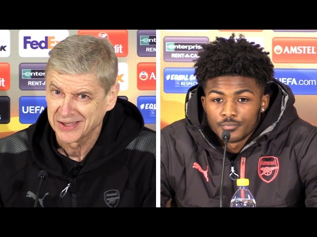 Arsene Wenger Ainsley Maitland Niles Full Pre Match Press Conference Ostersund v Arsenal