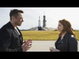Elon Musk on how Falcon Heavy will change space travel