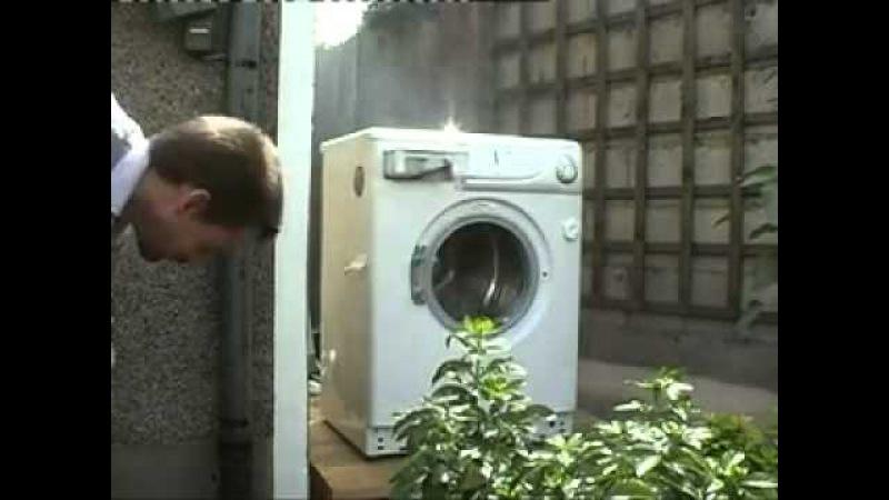 Что будет если в стиралку кинуть кирпич