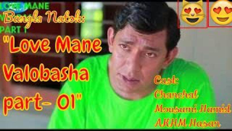 Bangla Natok 2017 Love Mane Valobasha part 01 Chanchal Mousumi Hamid AKHM Hasan Rtv Serial Rtv