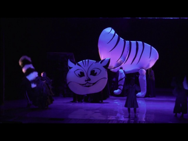 Чеширский Кот из спектакля Алиса в Стране Чудес