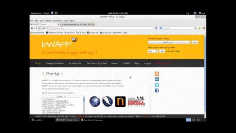 [Tutorial] - Burp Suite Pro SQLMap bWAPP