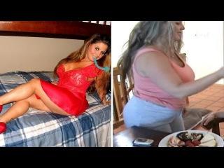 BBW Ashley Dobbs - The Massive Weight Gain Progression (Pawg Edition)